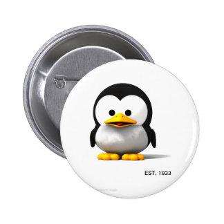 pen 6 cm round badge