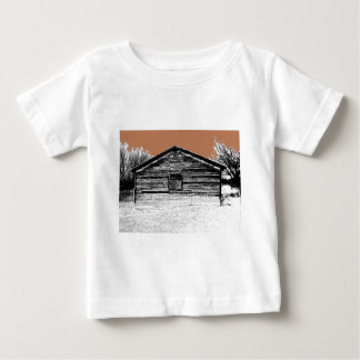 Pen and Ink Abandoned Stable Tshirt