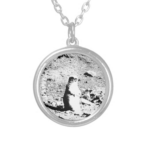 Pen and Ink Prairie Dog Pendant