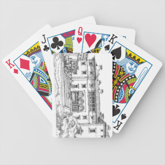 Pen and ink Vizcaya Bicycle Playing Cards