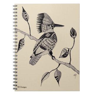 Pen & Ink Kingfisher Notebook