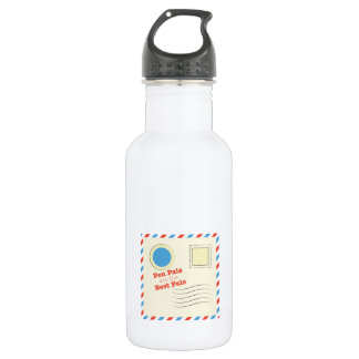 Pen Pals Are The Best Pals 532 Ml Water Bottle