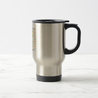 Pen Pals Are The Best Pals Stainless Steel Travel Mug