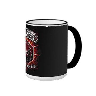 Pen & Paper Gamer Ringer Mug