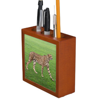 Pen raising and No.02 of cheetah Desk Organisers