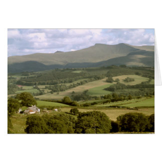 Pen y Fan and Criben, Brecon, Wales Card