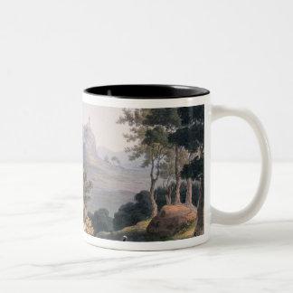 Pena Macor, engraved by C. Turner Two-Tone Coffee Mug