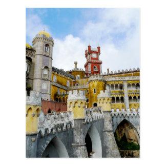 Pena Palace Lisbon Portugal UNESCO heritage Postcard