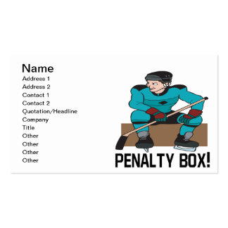 Penalty Box Business Card