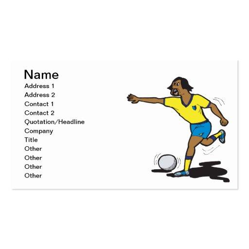Penalty Shot Business Card Template