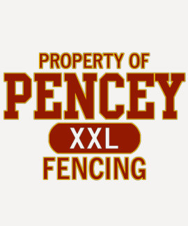 Pencey Fencing Jersey Tee Shirt