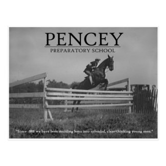 Pencey Hunter Jumper Postcard