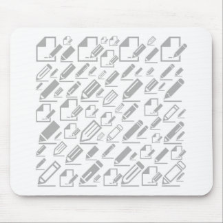 Pencil a background mouse pad