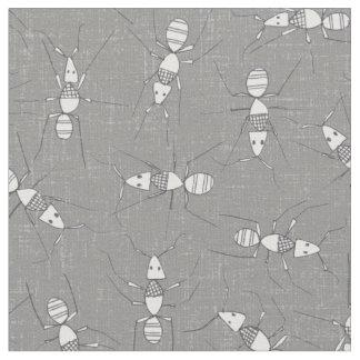 pencil ants fabric