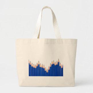 Pencil chart canvas bag