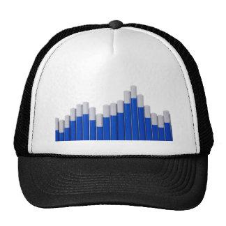 Pencil chart trucker hats