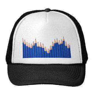 Pencil chart trucker hat