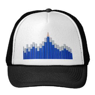 Pencil chart hats