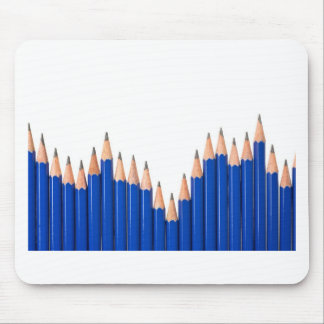 Pencil chart mouse pad