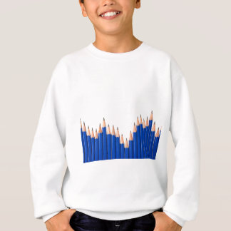Pencil chart sweatshirt