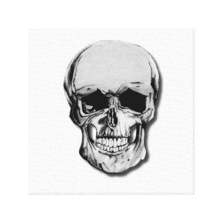 Pencil Drawing Skull Design - Canvas print