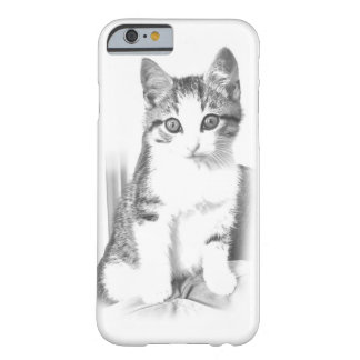 Pencil Drawing Tabby Cat iPhone 6 Case