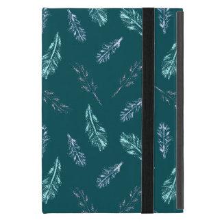 Pencil Feathers iPad Mini Case with No Kickstand