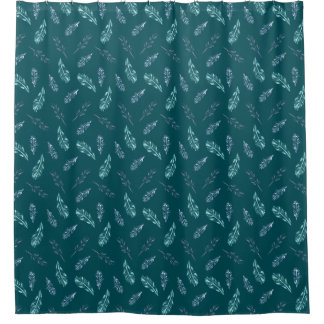 Pencil Feathers Shower Curtain