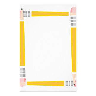 Pencil Framed Stationery