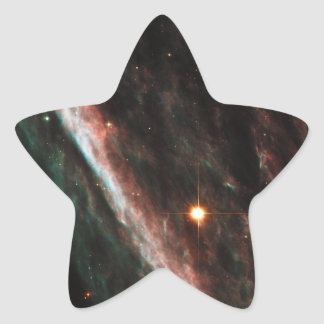Pencil Nebula Remnants of Exploded Star NGC 2736 Star Sticker