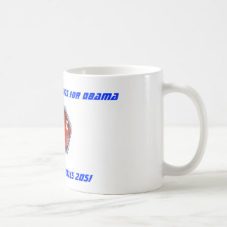 Pencil-necked geeks for Obama Coffee Mug