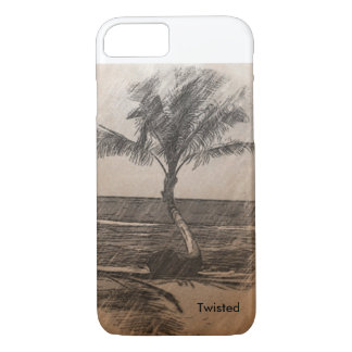 Pencil Palm Tree iPhone 8/7 Case