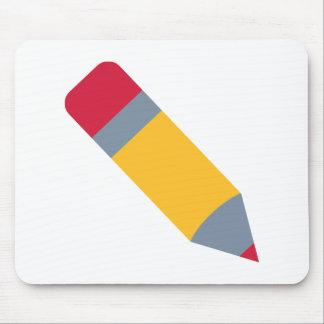 Pencil pen mousepad