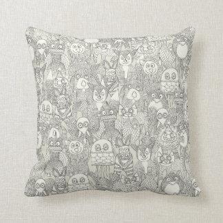 pencil pinatas ivory throw cushions