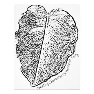 Pencil Sketch Leaf 21.5 Cm X 28 Cm Flyer