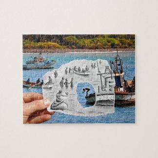 Pencil Vs Camera - Mermaid Jigsaw Puzzle