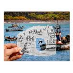 Pencil Vs Camera - Mermaid Postcard