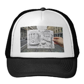 Pencil Vs Camera - This Is Not Gravity Mesh Hat