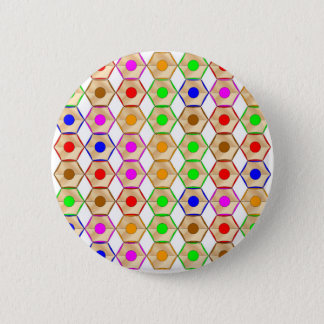 Pencils 6 Cm Round Badge