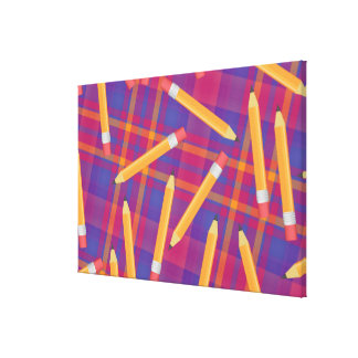 Pencils Gallery Wrap Canvas