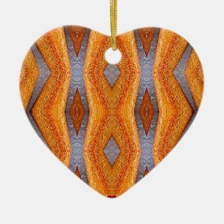 Pencils Ceramic Heart Decoration