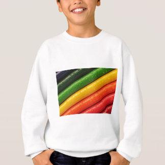 Pencils Crayons Colorful Rainbow Colours Bright Sweatshirt