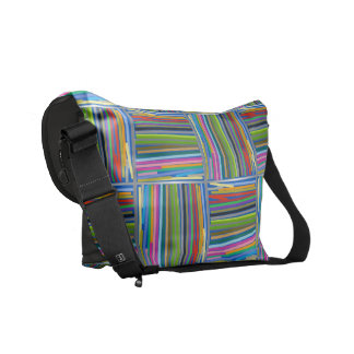 Pencils of color courier bags