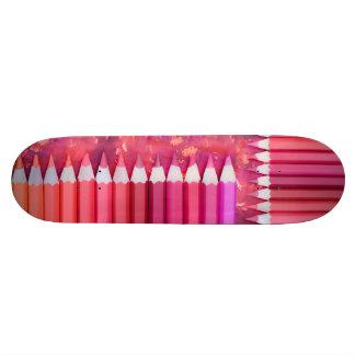 Pencils Skate Board Deck