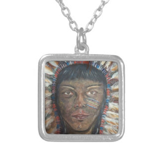 Pendant Necklace: Native American Sioux