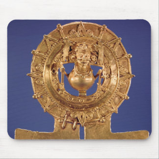 Pendant representing a sun disk, Zaachila Mouse Mat