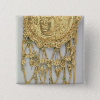 Pendant with the head of Athena Parthenos 15 Cm Square Badge