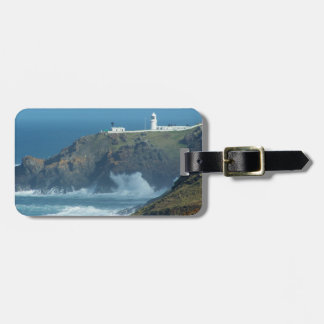Pendeen Lighthouse Cornwall England Photo Luggage Tag