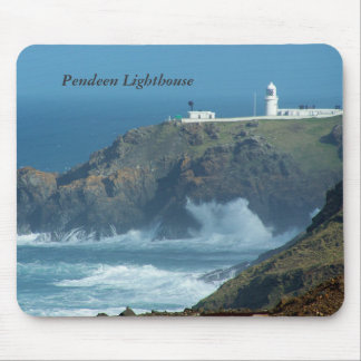 Pendeen Lighthouse Cornwall England Photo Mouse Pad