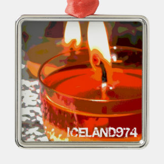 PENDENTIVE FIRE - ICELAND974 CHRISTMAS ORNAMENT